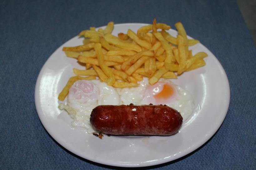 Huevo, Patatas y Chorizo
